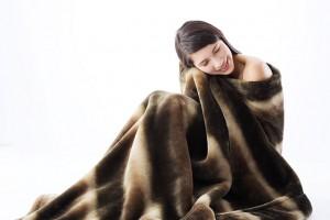 肌触りの良い毛布