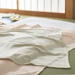 夏も快適に眠れる麻の寝具がおすすめ