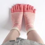 靴下で健康になれる?5本指ソックスの効果